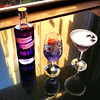 Fairmont Empress, purple signature gin drinks