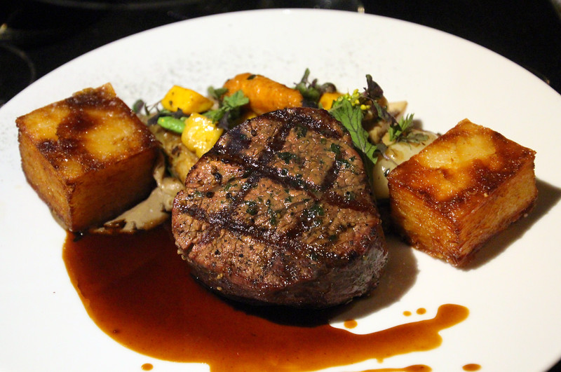 Fairmont Empress, Q at the Empress, chargrilled Canadian beef