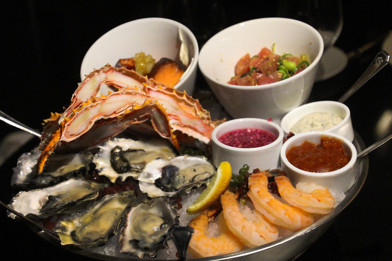 Fairmont Empress, Q at the Empress, Seafood Tower for two
