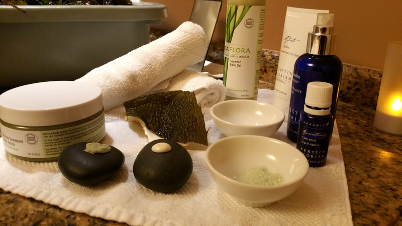 Fairmont Empress, Salish Sea Vitality spa treatment