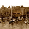 The historic Fairmont Empress Hotel, Victoria B.C>