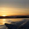 Victoria BC,  Sunset view from Haro Strait
