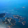 Victoria BC, Aerial view, Discovery Island Marine Provincial Park
