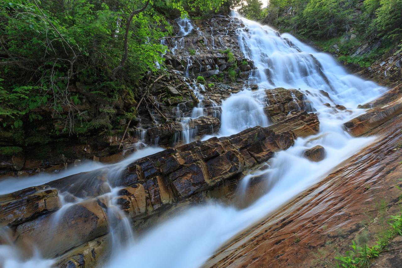 Many Layers of Lower Bertha Falls