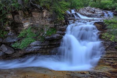 Cascade On Bertha Creek