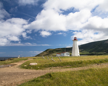 Cape Anguille lighthouse near Codroy