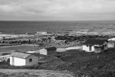 The summer fishing village of Green Point, in Gros Morne National Park.