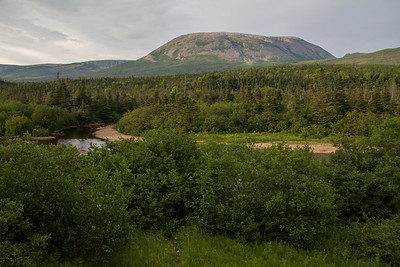 Gros Morne Mountain, for which the national park is named.