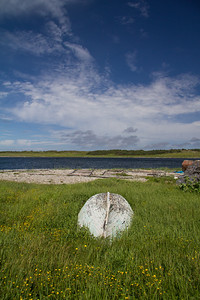 In the village of Port au Choix.