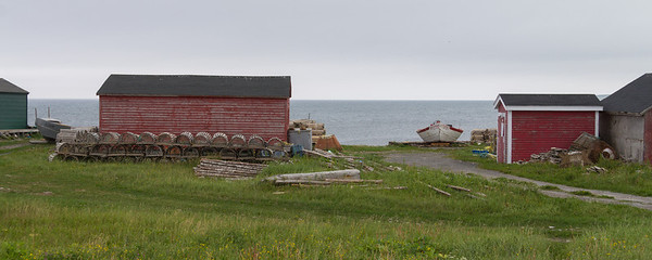 Sally's Cove, a tiny fishing community near the northern boundary of Gros Morne National Park.