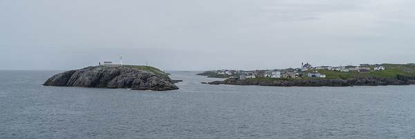 Arriving to (or departing from) Port aux Basques on the ferry from Nova Scotia.