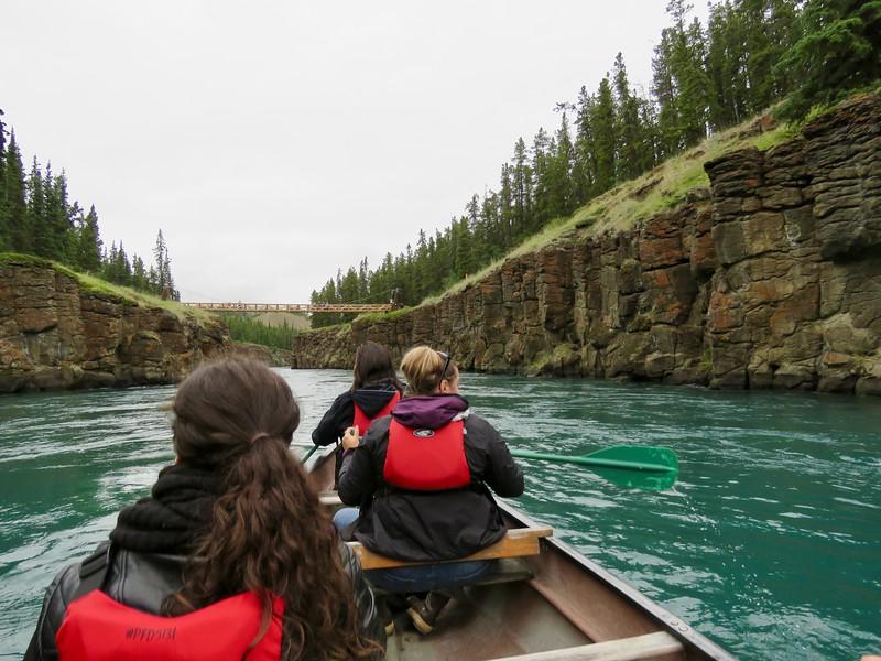 Miles Canyon - Whitehorse Yukon