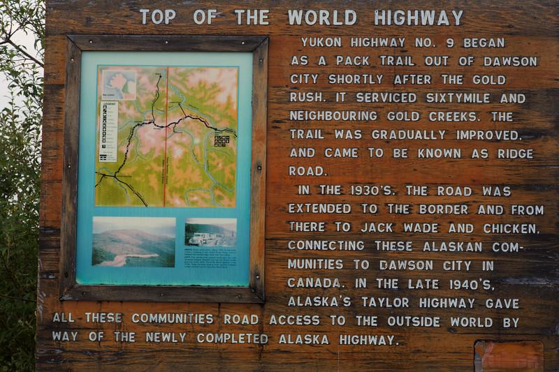 Top of the World Highway, Yukon, Canada