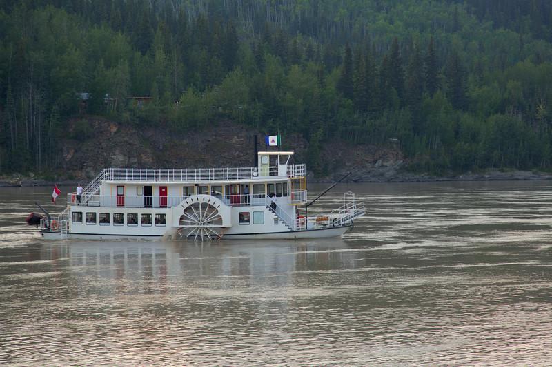 Yukon River Tour Boat, Dawson City, Yukon, Canada