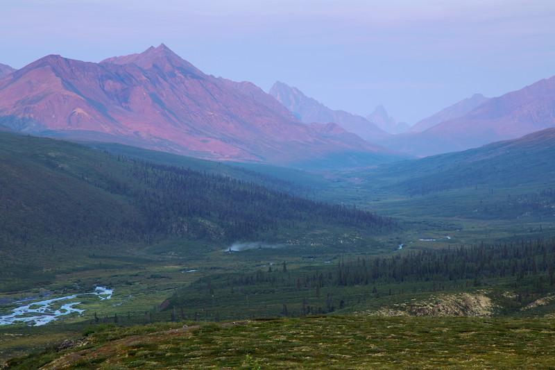 North Klondike River, Tombstone Territorial Park, Yukon, Canada