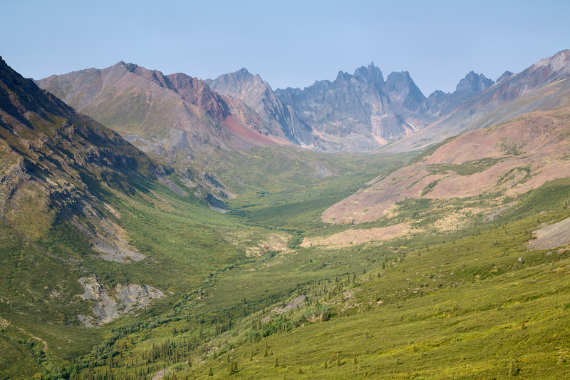 Grizzly Creek & Mt. Monolith, Tombstone Territorial Park, Yukon, Canada