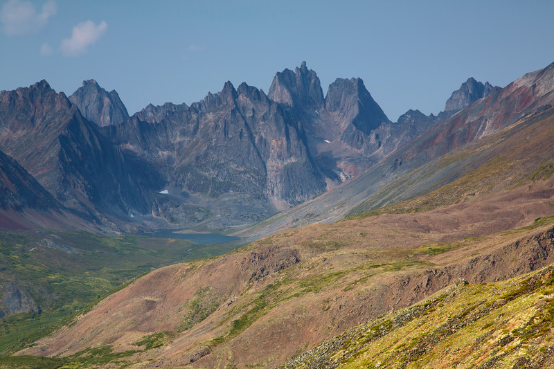 Grizzly Lake & Mt. Monolith, Tombstone Territorial Park, Yukon, Canada