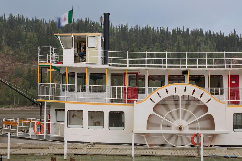 River Tour Boat, Dawson City, Yukon, Canada