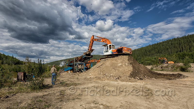 Placer Mining on Bonanza Creek