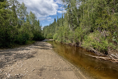 Site of Discovery Claim on Bonanza Creek, Yukon