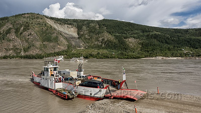 George Black Ferry at Dawson City