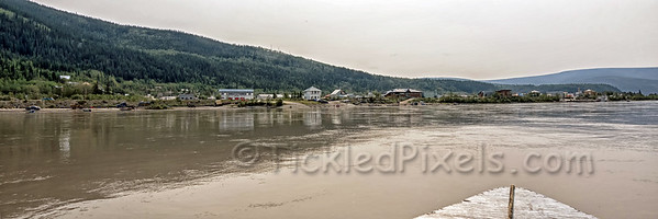 Dawson from the Yukon River