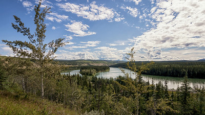 Yukon River at Carmacks