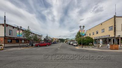 Looking Up Main Street