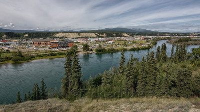 Whitehorse across the Yukon River