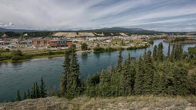 Whitehorse across the Yukon River