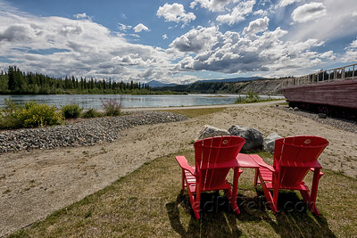 Watching the Yukon River