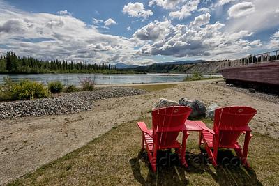 Watching the Yukon River
