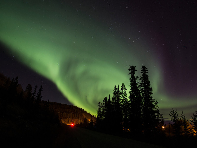 The Aurora and the uninvited crowd...