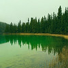The Emerald Lake, Yukon.
