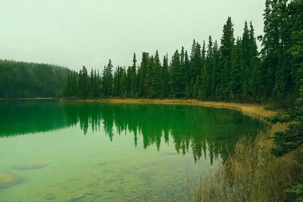 The Emerald Lake, Yukon.