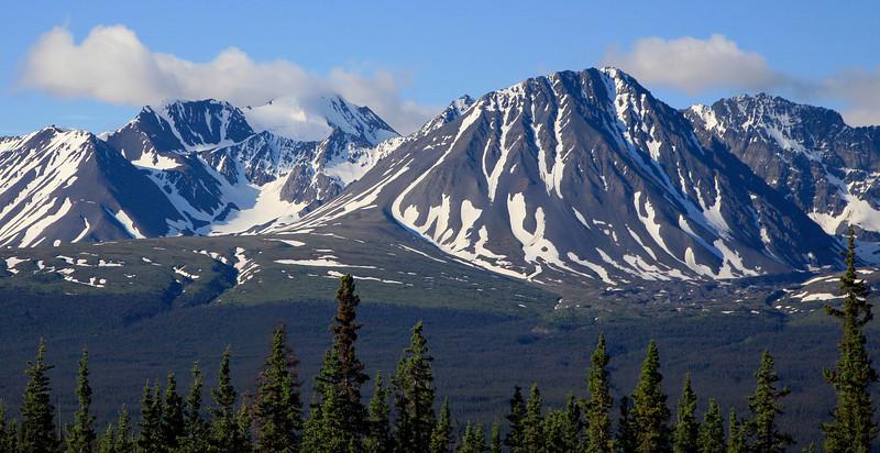 Kluane Mountain Range, Yukon Canada