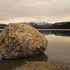 The Boulder at Fish Lake, The Yukon, Canada