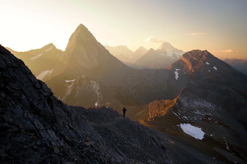 The Smutwood Peak Ridge