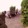 Hope Well Rocks - Bay of Fundy - New Brunswick, Canada