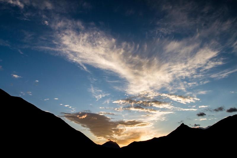 Mt. Galwey Sunset