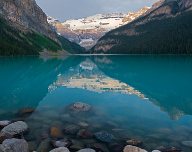 Lake Louise sunrise, Banff National Park