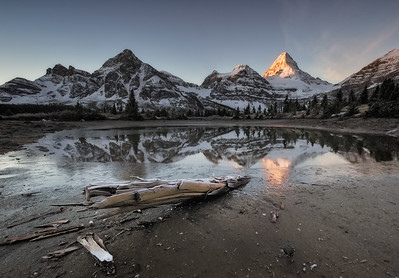Mount Assiniboine Tarn
