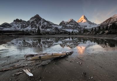 Mount Assiniboine Tarn
