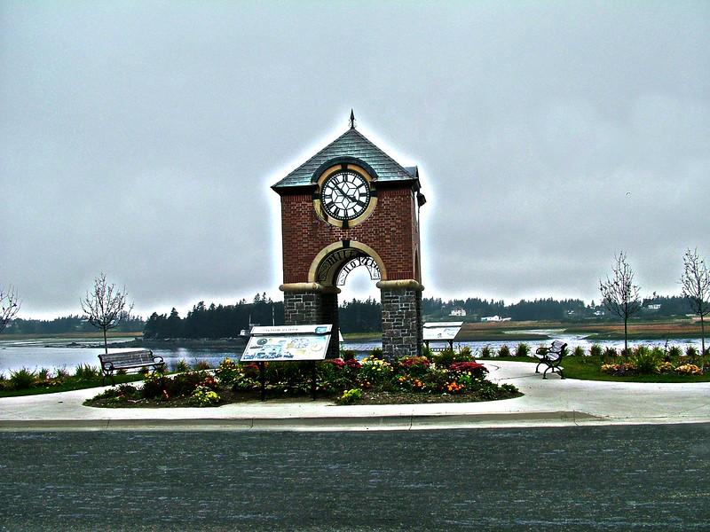 Milton Clock - Yarmouth, Nova Scotia