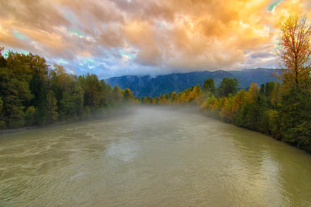 Lillooet river