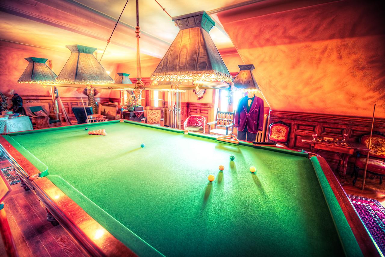 Craigdarroch Castle Billiard Room