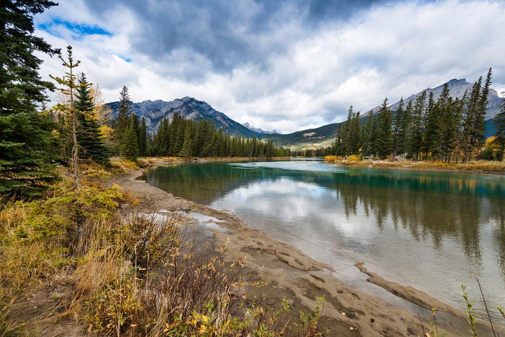Bow River, Banff, Alberta, Canada