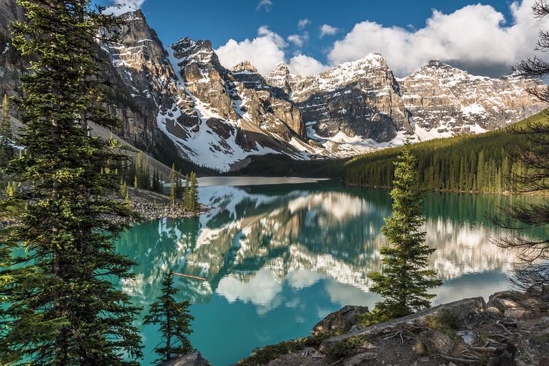 Early Morning, Moraine Lake, Banff NP, Alberta