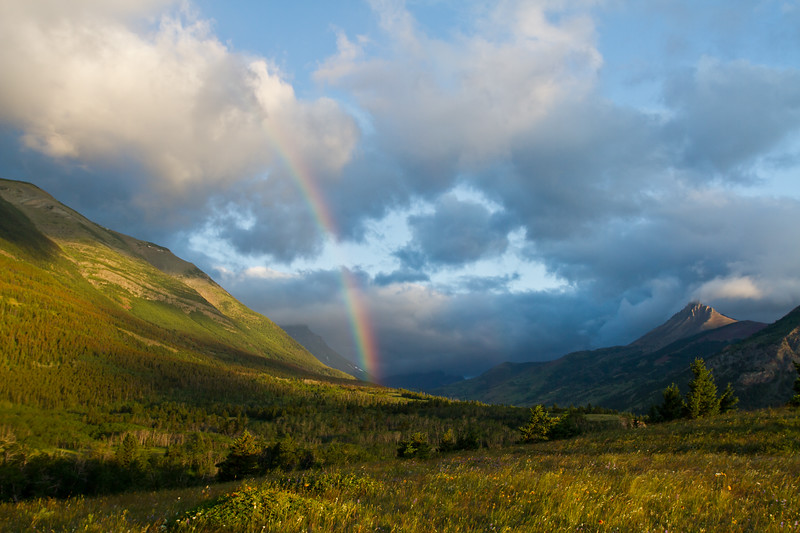 Rainbow Morning, Mt. Galwey