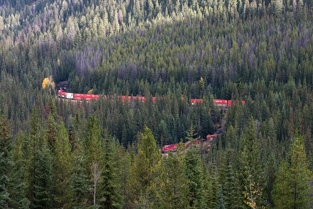 Spiral Tunnels, British Columbia, Canada